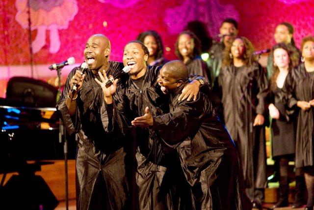 Los Mississippi Gospel Choir.