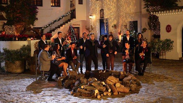 Un momento de la retransmisión de Nochebuena en Canal Sur Televisión