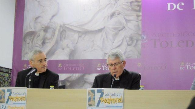 El arzobispo en la presentación de las jornadas