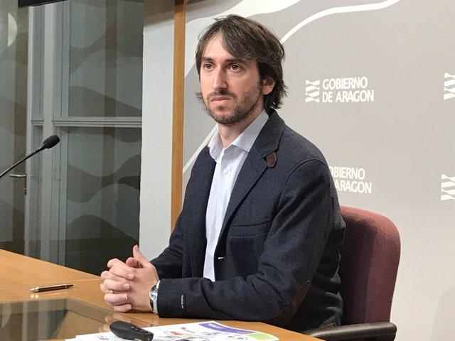 El director del IAJ, Adrián Gimeno.