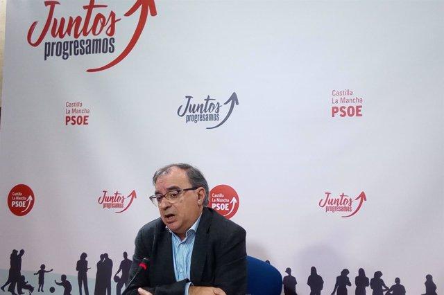 El diputado del PSOE en las Cortes de C-LM Fernando Mora