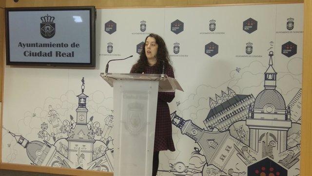 La portavoz del Ayuntamiento de Ciudad Real, Sara Martínez