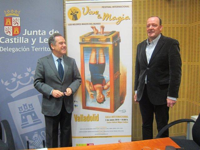 Trillo y Manuel Matilla, en la presentación.