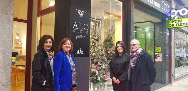 Visita de la secretaria xeral de Igualdade, Susana López Abella, a Ourense