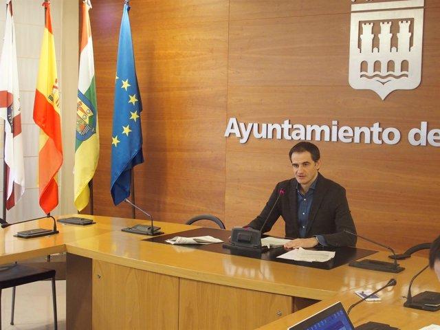 El portavoz del Equipo de Gobierno, Miguel Sáinz