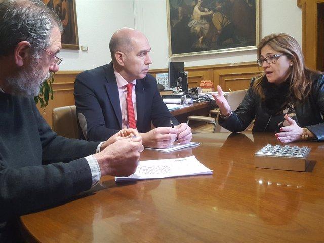 Encuentro celebrado en la Diputación de Zamora.