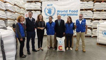 Puertos del Estado aprovecha su felicitación navideña para promover el apoyo al Programa Mundial de Alimentos de la ONU