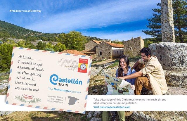 Imagen promocional del turismo en la provincia de Castellón