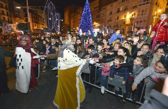 Cabalgata de Reyes de Santander