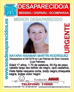 Nayara Nisamar Martín Rodríguez