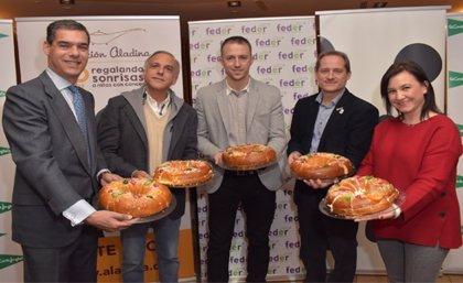 El Corte Inglés pone a la venta unos roscones solidarios destinados a Aladina, FEDER y WWF