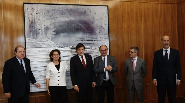 Reunión de Asturias, Castilla y León y Aragón con Teresa Ribera