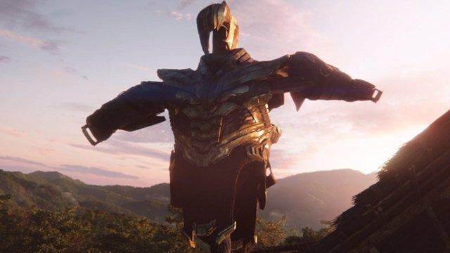 La armadura de Thanos en Vengadores: Endgame