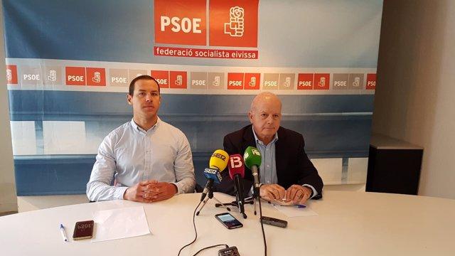 Simón Planells presenta su precandidatura del PSOE de Sant Antoni