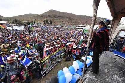 Opositores bolivianos finalizan parcialmente la huelga se hambre contra la reelección de Evo Morales