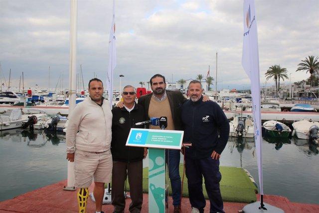Firma de acuerdos con los clubes de Pesca Deportiva y Kayak