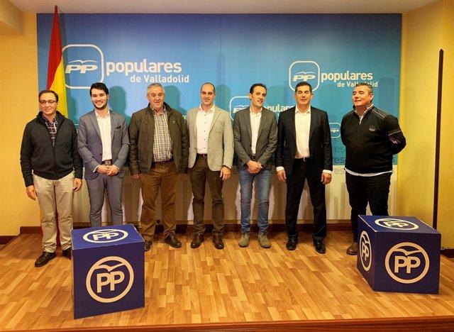 Valladolid.- Candidatos a alcaldías del PP
