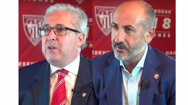 Candidatos a la presidencia del Athletic Club