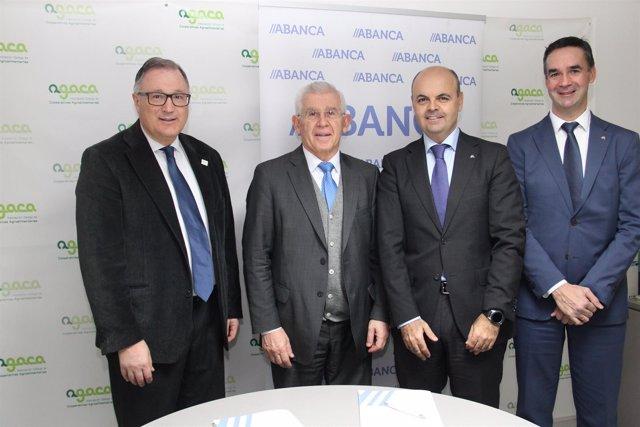 Abanca y Agaca firman un convenio de colaraboación