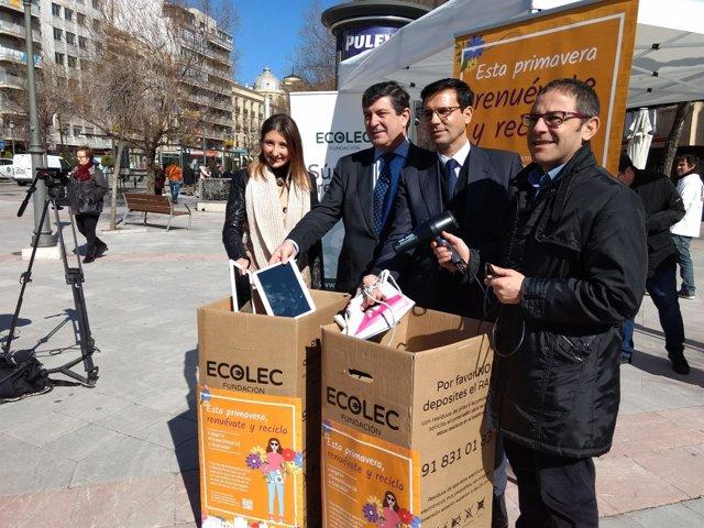 La 'GreenWeek' de la Fundación Ecolec durante su campaña en Granada