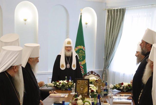 El Patriarca de la Iglesia Ortodoxa Rusa, Cirilo I