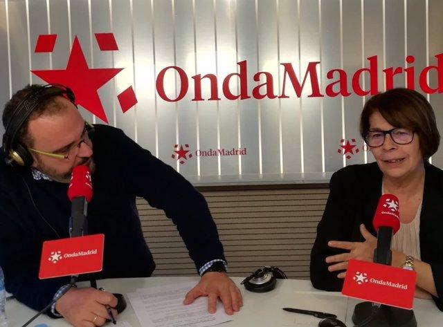 La delegada de Medio Ambiente de Ayuntamiento de Madrid, Inés Sabanés