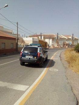 Patrulla de la Policía Local de Lorca
