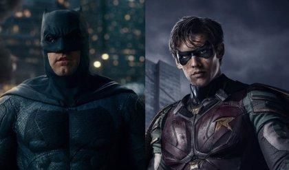 Titans: Filtrada la imagen del traje completo de Batman
