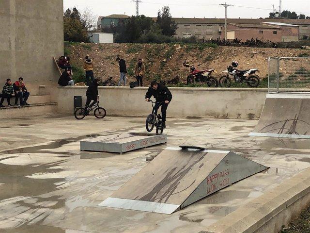 Pista de Skate en Zaidín