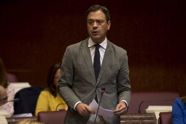 El diputado regional del PP Marcos Ortuño