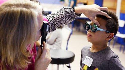 Detectar a los 7 años el 'ojo vago' reduce hasta en un 50% la eficacia del tratamiento