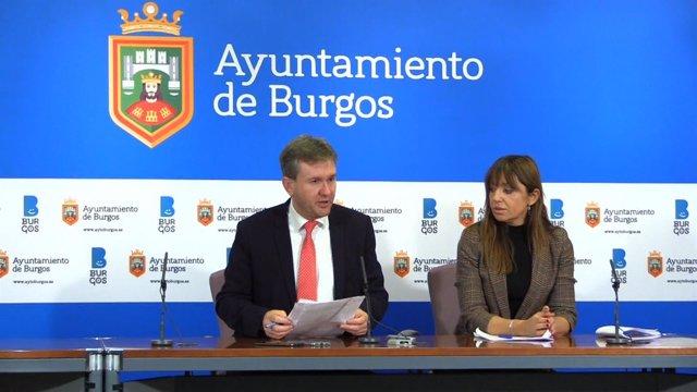 Burgos.- Javier Lacalle y Carolina Blasco