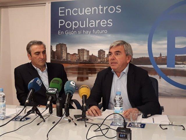 CARLOS SUÁREZ Y MARIANO MARÍN (PP)