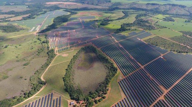 Plantas fotovoltaicas de GPG en Brasil