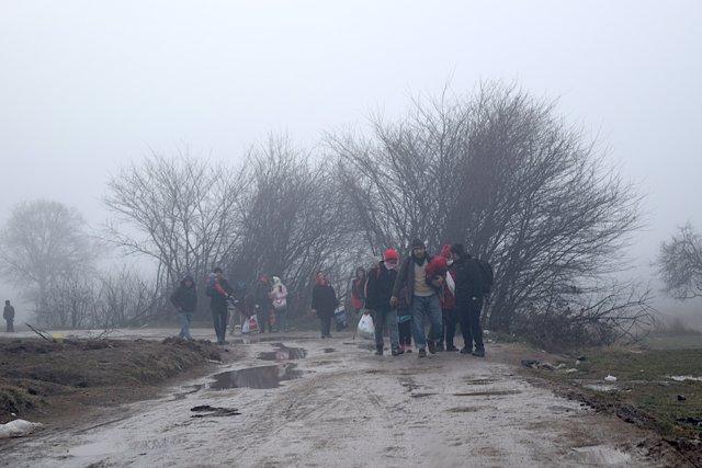 Inmigrantes y refugiados en Bosnia