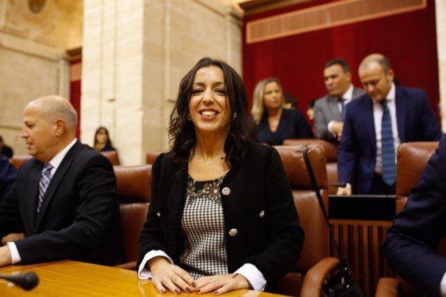 Marta Bosquet, diputada de Cs elegida presidenta del Parlamento andaluz