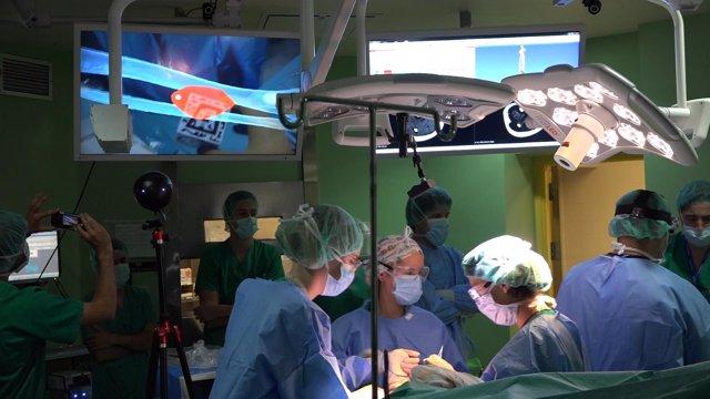 El Hospital Gregorio Marañón, pionero en las operaciones