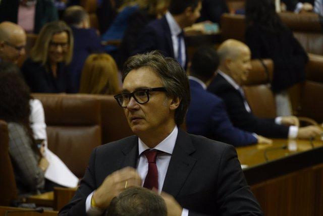 El diputado de Vox por Cádiz Manuel Gavira Florentino