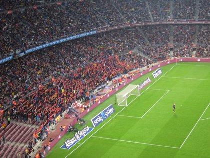 La portería del Camp Nou en la que Messi falla más penaltis se asienta sobre pizarras, calizas y rocas duras
