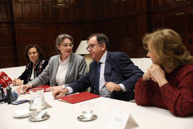 Acuerdo entre Marta Higueras e Instituciones Penitenciarias