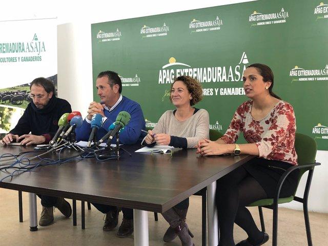 Imagen del balance de 2018 de APAG Extremadura