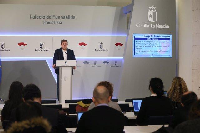 Nacho Hernando, portavoz C-LM, en Consejo de Gobierno