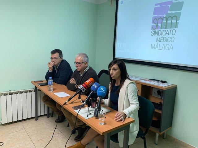 Rafael Ojeda, Antonio Martín, y Ana Duarte