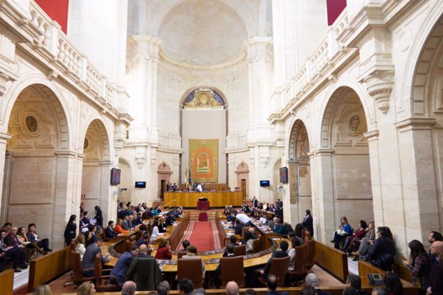 Sesión constitutiva del Parlamento andaluz de la XI legislatura