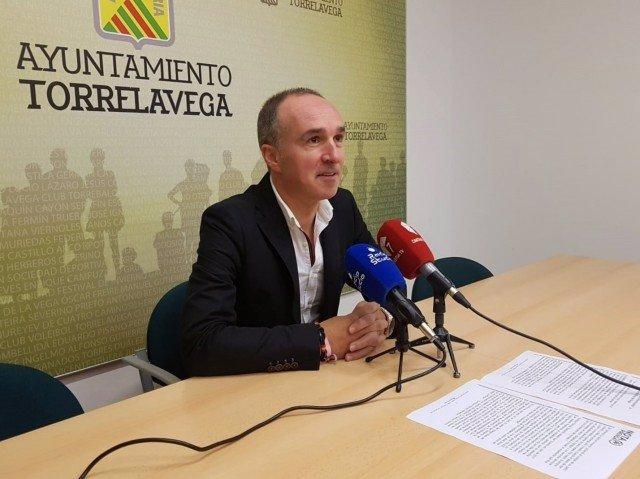 El concejal del PP de Torrelavega Enrique Gómez Zamanillo