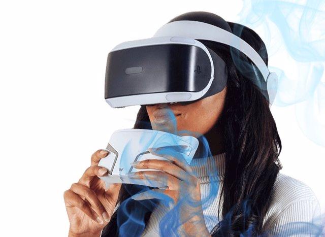 Máscara multisensorial para realidad virtual