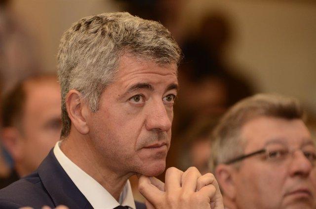 Miguel Ángel Gil Marín, consejero delegado del Atlético de Madrid