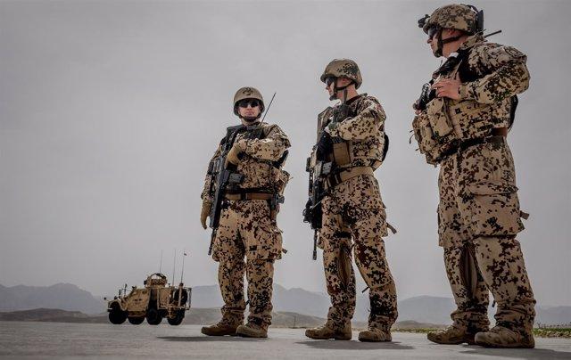 Militares alemanes en Afganistán