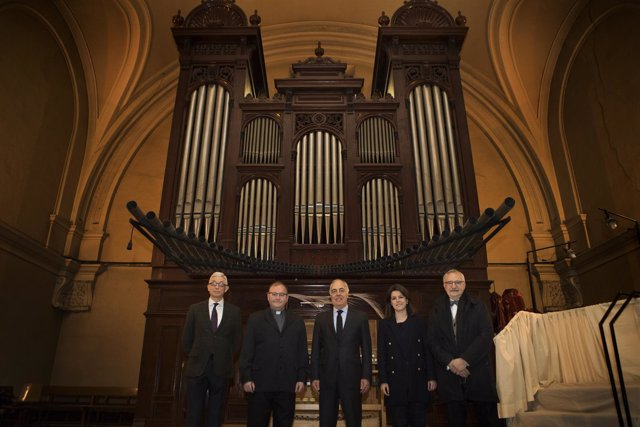 Fundación Ibercaja colabora con Santa Engracia en mantenimiento del órgano