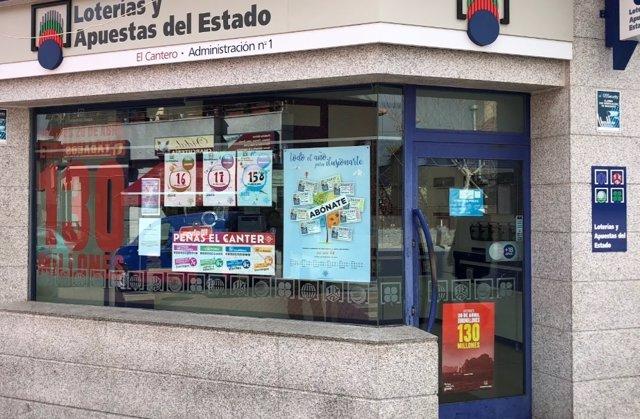 Administración de Lotería El Cantero de Alpedrete